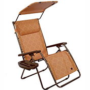 Bliss Deluxe Gravity Free Recliner w/ Covered Bungee, Terracotta
