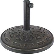 Bliss Umbrella Base, Metro Resin, Dark Bronze
