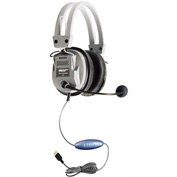 HamiltonBuhl Deluxe USB Headset w/ Microphone
