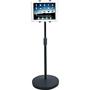"iPad/Tablet Universal Mount Floor Stand,  Adjustable Height (37.6""-56.5"")"