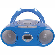 HamiltonBuhl Bluetooth®, CD, Cassette, FM Boombox