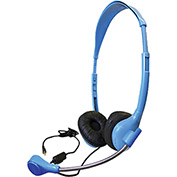 Personal Headset with Goose Neck Mic and TRRS Plug