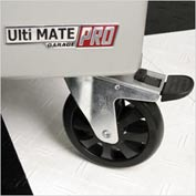 "Ulti-MATE Garage PRO Rolling,6"" Locking Caster Set"
