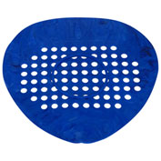 Big D Flat Urinal Screen - Natural/Blue - 650