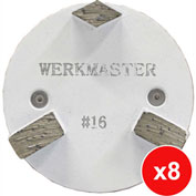 WerkMaster Termite XT Glue/Mastic/Cure & Seal Removal Package for Hard Concrete - 020-0371-0H