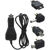 Bracketron Universal GPS Car Charger with 4 Adapters