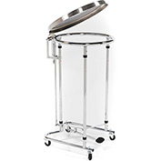 Blickman Tilt-Top Foot Operated Medical Hamper 2118