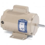 Baldor Motor AFL3523A, 2HP, 3450RPM, 1PH, 60HZ, 143TZ, 3535L, TEAO, F1