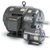 Baldor Motor M3153T,  .75HP, 1140RPM, 3PH, 60HZ, 143T, 3428M, OPEN