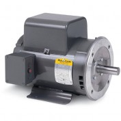Baldor Motor PCL1322M, 2HP, 1725RPM, 1PH, 60HZ, 56C, 3532LC, OPEN, F1