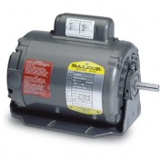 Baldor Motor RL1310A277, 1HP, 1725RPM, 1PH, 60HZ, 56/56H, 3528L, OPEN, F