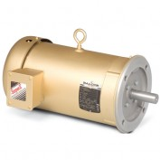 Baldor Motor VENM3581T, 1HP, 1740RPM, 3PH, 60HZ, 143TC, 0524M, TENV, F1
