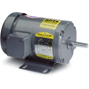 Baldor Motor VM8537, .5HP, 3450RPM, 3PH, 60HZ, 56C, 3410M, TEFC, F1