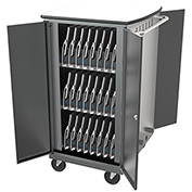Balt® 27695-4 iTeach High Capacity Tablet Charge Cart For 32 Devices, Assembled