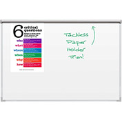 Best Bite Whiteboard TuF-Rite™, Silver Ultra Trim - 4X6 ft.
