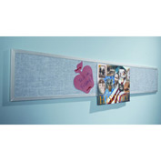 "Balt® Tackboard Display Panels - 120""W x 11-3/4""H"