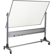 Platinum Reversible - Evolution Projection Surface - Matte Gray/Porcelain Steel - 4X6 ft.