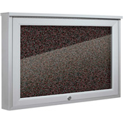 "Balt® Weather Sentinel Outdoor Enclosed Cabinet - Rubber-Tak Surface - 24""W x 18""H Red"