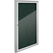 "Balt® Weather Sentinel Outdoor Enclosed Cabinet - 1 Door - 24""W x 48""H Green"