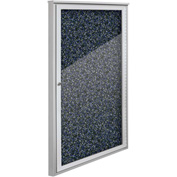 "Balt® Weather Sentinel Outdoor Enclosed Cabinet - 1 Door - 24""W x 48""H Blue"