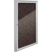 "Balt® Weather Sentinel Outdoor Enclosed Cabinet - 1 Door - 24""W x 48""H Red"