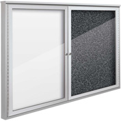 "Balt® Weather Sentinel Outdoor Enclosed Cabinet - 2 Doors - 48""W x 36""H Black"