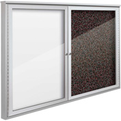 """Balt® Weather Sentinel Outdoor Enclosed Cabinet - 2 Doors - 48""""W x 36""""H Red"""