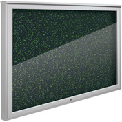 "Balt® Weather Sentinel Outdoor Enclosed Cabinet - Rubber-Tak Surface - 48""W x 36""H Green"