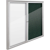 "Balt® Weather Sentinel Outdoor Enclosed Cabinet - 2 Doors - 48""W x 48""H Green"