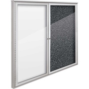 "Balt® Weather Sentinel Outdoor Enclosed Cabinet - 2 Doors - 48""W x 48""H Black"