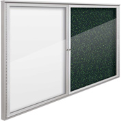 "Balt® Weather Sentinel Outdoor Enclosed Cabinet - 2 Doors - 72""W x 48""H Green"