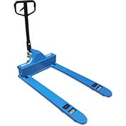 "Blue Giant® Manual 4-Way Pallet Jack Truck EPT-33-4W - 3300 Lb. Capacity - 33"" x 48"""