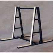 "Bluff A-Frame Slab Rack Floor Display, AFRAMESTD, 60""W x 60""D x 60""H"