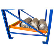 "Bluff Keg Flow Frame For 42""D Rack, KEGFLOW42, Holds 4 Sixer Kegs, 24""W"