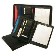 Bond Street Executive Koskin Leather Look Writing Portfolio Case