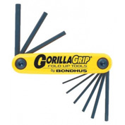 "Bondhus 12585 3/16-3/8"" 5 Pc. GorillaGrip Fold-Up Set"
