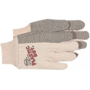 Plastic Dotted Cotton Gloves, Boss 1bp5501, 1-Pair - Pkg Qty 12