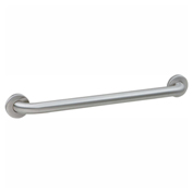"Bobrick® 1-1/4"" Dia. Straight Satin Grab Bar 42""W - 5806X42"