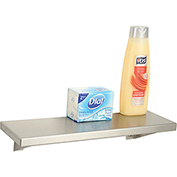 "Bobrick® Stainless Steel Shelf - 16""W x 5""D - B295x16"
