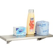 "Bobrick® Stainless Steel Shelf - 18""W x 5""D - B295x18"