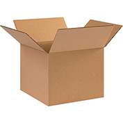 Cardboard Corrugated Box 10 x 10 x 8 200lb. Test/ECT-32, Pack of 25
