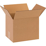 "Corrugated Boxes 10"" x 8"" x 10"" - 25 Pack"
