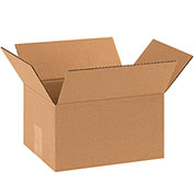 "10 x 8 x 6"" Corrugated Boxes, 200#/ECT-32 Kraft - 25 Pack"