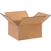 "Cardboard Corrugated Box 11"" x 11"" x 5"" 200lb. Test/ECT-32 - 25 Pack"