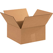 "Cardboard Corrugated Boxes 11"" x 11"" x 6"" 200lb. Test/ECT-32- 25 Pack"