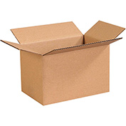 "Cardboard Corrugated Box 11"" x 7"" x 7"" 200lb. Test/ECT-32 - 25 Pack"