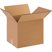 "Cardboard Corrugated Box 12"" x 10"" x 10"" 200lb. Test/ECT-32 - 25/PACK"