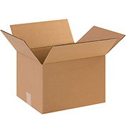 "Cardboard Corrugated Box 12"" x 10"" x 8"" 200lb. Test/ECT-32 - 25 Pack"