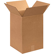 "Cardboard Corrugated Box 12"" x 12"" x 18"" 200lb. Test/ECT-32 - 25 Pack"