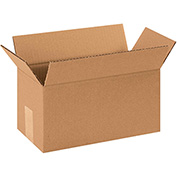 "Corrugated Boxes 12"" x 7"" x 7"" - 25 Pack"